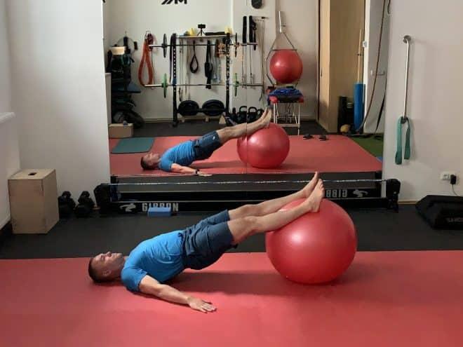 Lower back strengthening